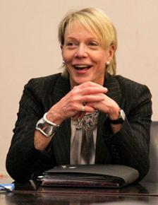 Incoming New York City School Chancellor Cathie Black