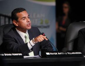 Los Angeles Mayor Antonio Villaraigosa