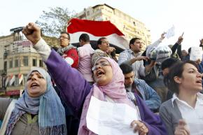 Protesters fill Cairo's Tahrir Square to call for an end to Hosni Mubarak's dictatorship