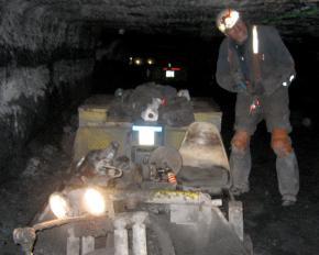 A coal miner in West Virginia