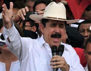 Former President Manuel Zelaya returns to Hondurus, but still stripped of his office