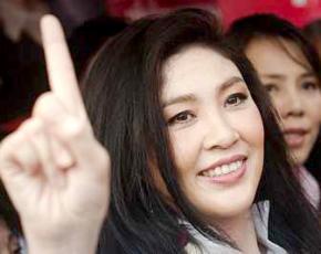 Thailand's new prime minister Yingluck Shianawatra