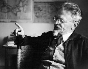 Leon Trotsky in Mexico in 1939