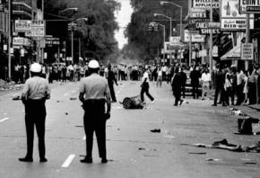 The 1960s urban rebellions, like Detroit's in 1967 (pictured), provided the backdrop to the radicalization of Black workers
