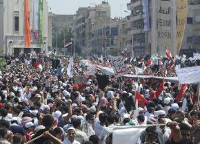 Government repression has failed to halt the mass movement in Syria