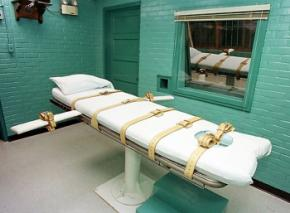 The lethal injection chamber in Hunstville, Texas