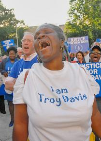 Supporters demand justice for Troy Davis in Atlanta