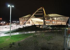 The $3.4 billion Moses Mahbida stadium built in Durban for the 2010 World Cup