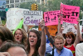 New Yorkers march against sexual violence and victim-blaming at NYC SlutWalk