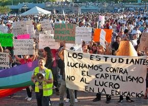 Half a million people demonstrated in the streets of 80 Spanish cities on October 15