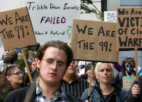 Occupy movement activists have reclaimed Seattle's Westlake Plaza for their encampment