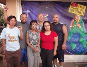 The Gudiel family is fighting back against a threatened foreclosure