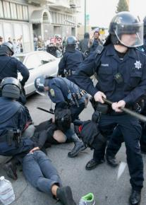 Oakland police on a rampage against Occupy protesters
