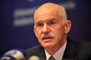 Greek Prime Minister George Papandreou