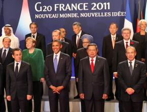 World leaders gathered in France for the G20 summit