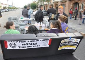 Bayview anti-forclosure activists meet for a block party