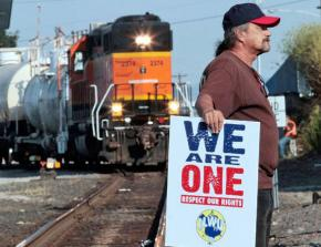 ILWU members in Longview have confronted grain shipments headed for the new EGT terminal