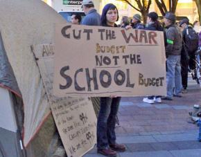 Seattle occupiers stand up for public schools
