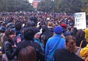 UC Davis students and faculty held a massive General Assembly in the aftermath of the pepper spraying