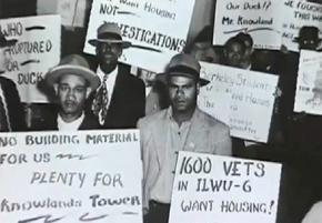 Oakland workers during the general strike of 1946