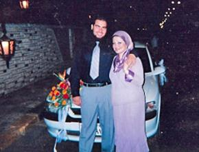 Tarek Mehanna with his mother