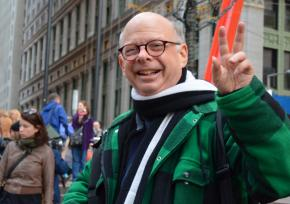 Wallace Shawn occupying Wall Street