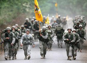 Cadets return to Fort Lewis from a training exercise