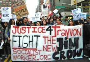Marchers took to the streets in New York City to demand justice for Trayvon Martin