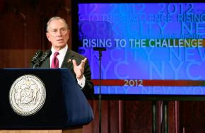 Mayor Bloomberg gives his 2012 State of the City address