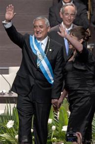 Guatemalan President Otto Pérez Molina
