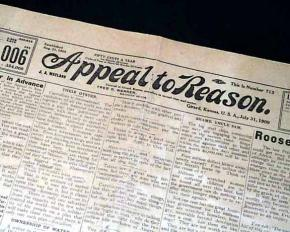 The socialist newspaper Appeal to Reason