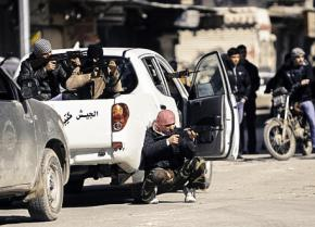 Fighters of the Free Syrian Army in Idlib