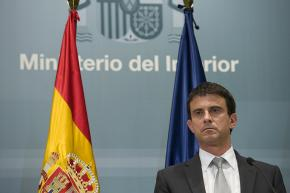 Interior Minister Manuel Valls