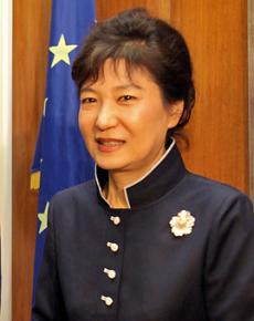 South Korea's newly elected President Park Geun-hye