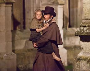 A scene from the film musical Les Misérables