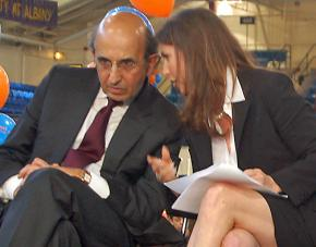 Privatization advocates Joel Klein and Eva Moskowitz