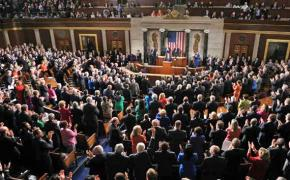 Obama delivers his State of the Union address before Congress