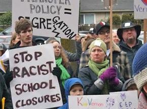 Portland residents protest proposed school closures