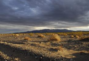 The view across the Panamint Valley in California
