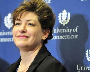University of Connecticut President Susan Herbst