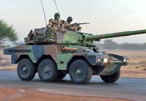 French troops on patrol in Mali