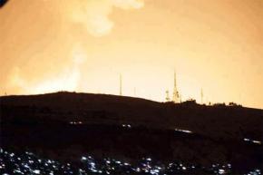 Israeli air strikes hit their targets near Damascus