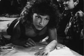 Still from Maya Deren's At Land, 1944