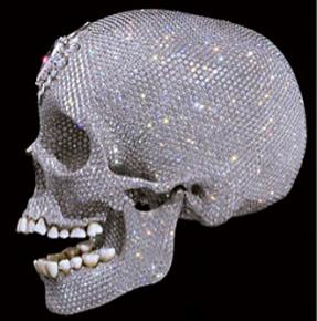 Actual bourgeois decadence: Damien Hirst's For the Love of God, 2007