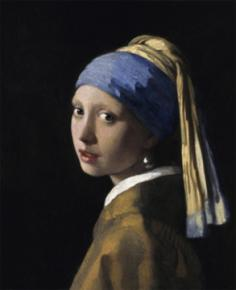 Vermeer's Girl with a Pearl Earring, 1665