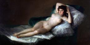 Goya's Naga, 1800