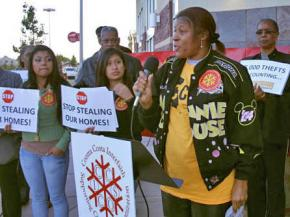 Victims of foreclosure in Richmond, Calif., demand justice