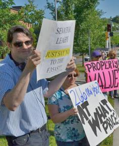 Vermonters oppose the basing of the F-35A warplane