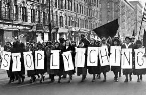 Harlem marches to defend the Scottsboro Boys