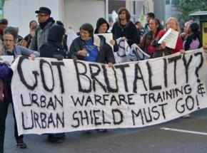 Oakland rallies against the Urban Shield program